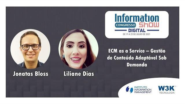 Capa Evento: Information Show - ECM as a Service